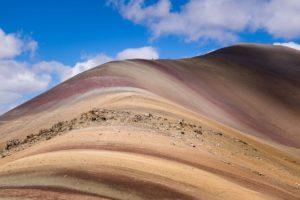 trekkingi w peru, teczowe gory