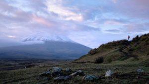 wulkan cotopaxi ekwador