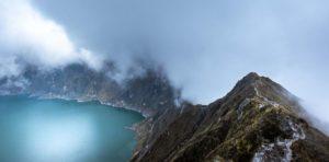 trekking laguna quilotoa, ekwador