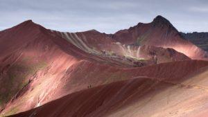 teczowe gory w peru, rainbow mountain peru